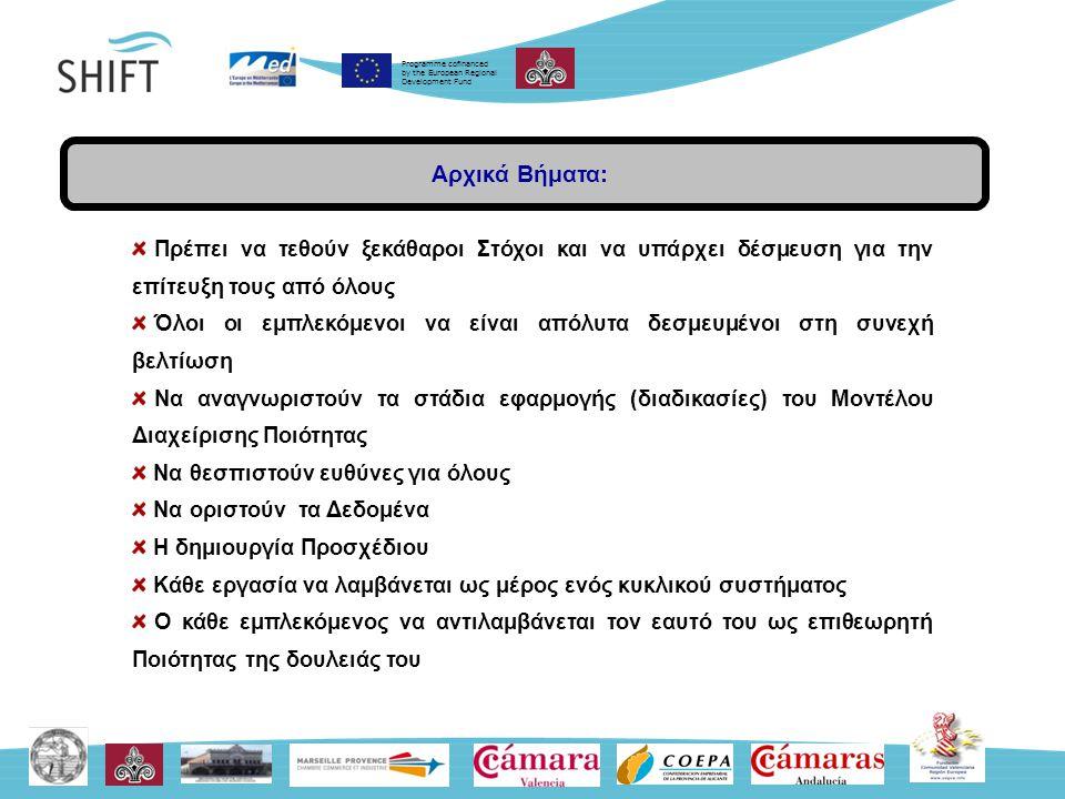 Programme cofinanced by the European Regional Development Fund Ωφέλειες Τουριστικής Ερμηνευτικής (1) Οικονομία Ερµηνεία: Ο θεμέλιος λίθος της διακριτής εικόνας του τόπου - δημιουργία (place identity & place attachment) Εξαγωγή της εικόνας του πόρου, της εικόνας του τόπου.