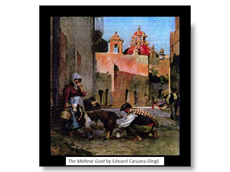 The Maltese Goat by Edward Caruana-Dingli