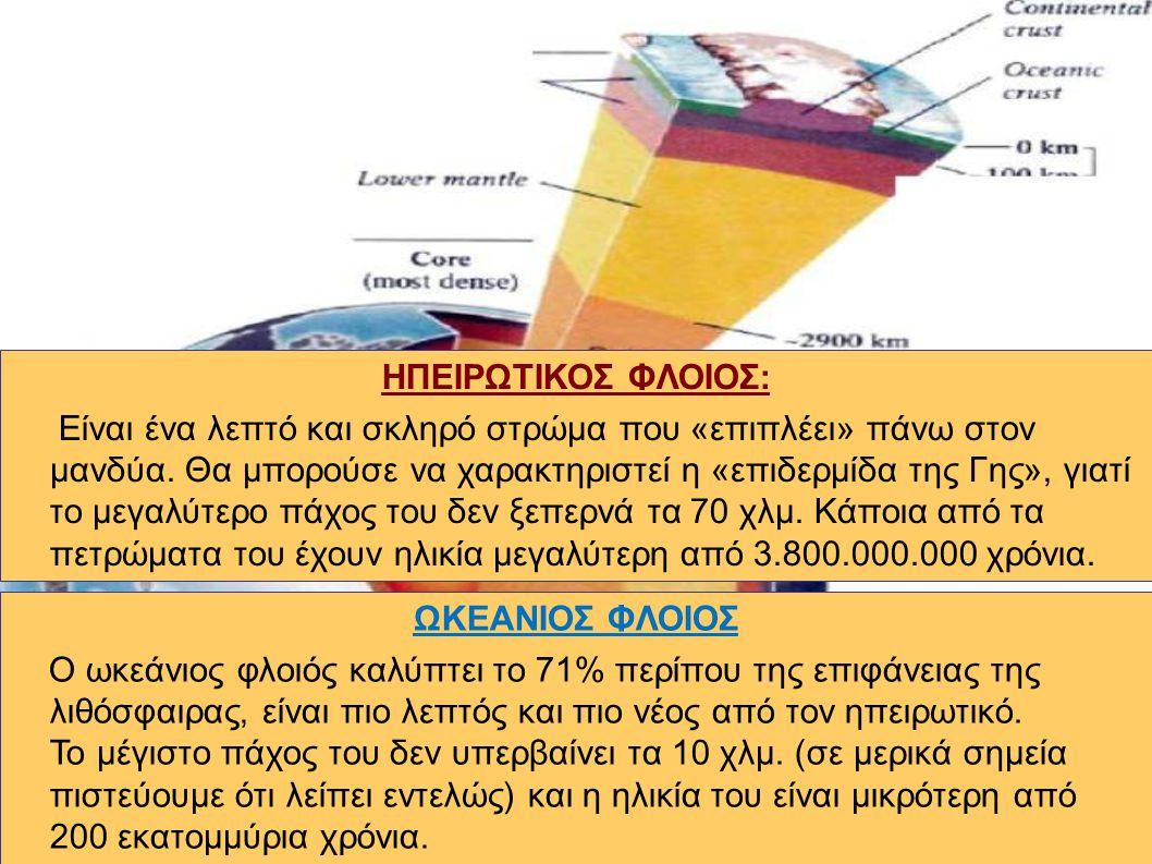 ΜΑΝΔΥΑΣ Αντιπροσωπεύει το μεγαλύτερο μέρος του όγκου της Γης (83%).