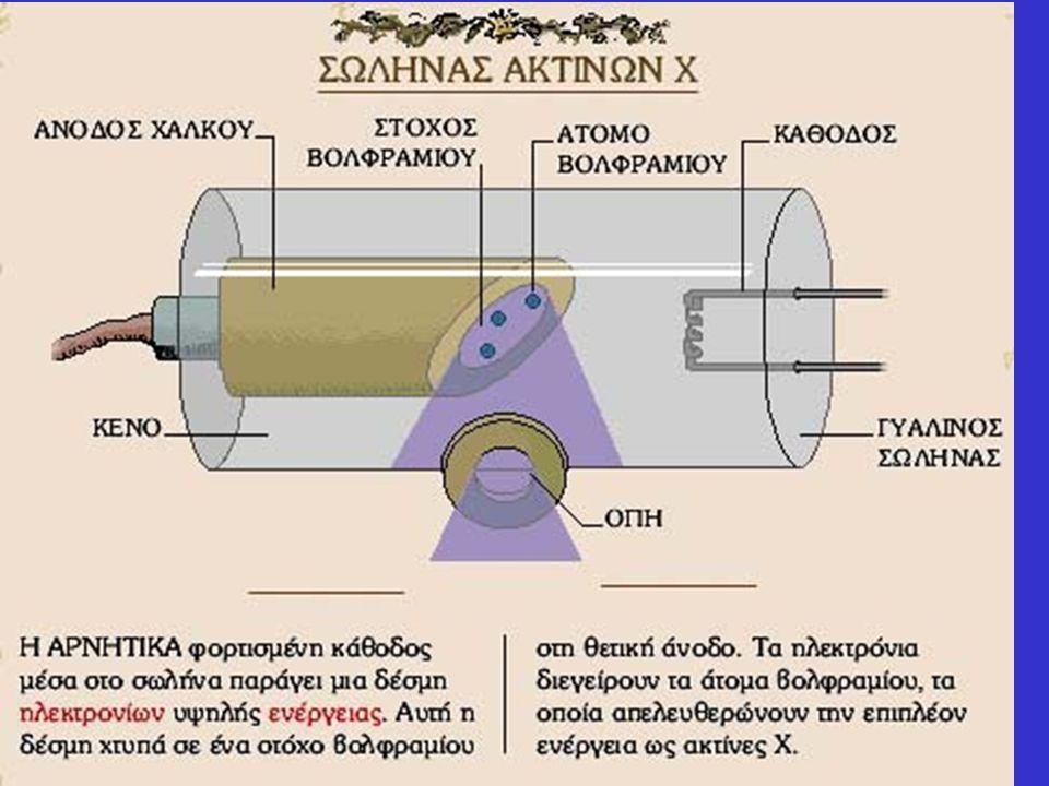 Παραγωγή των ακτίνων Χ