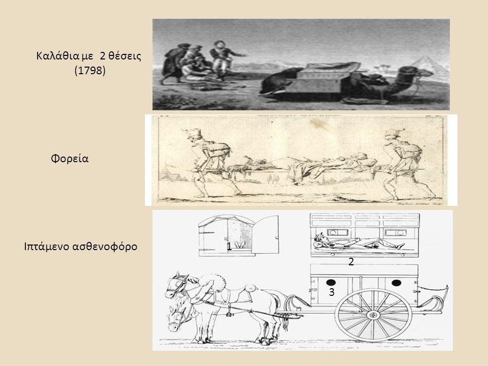 Καλάθια με 2 θέσεις (1798) Φορεία Ιπτάμενο ασθενοφόρο1 2 3