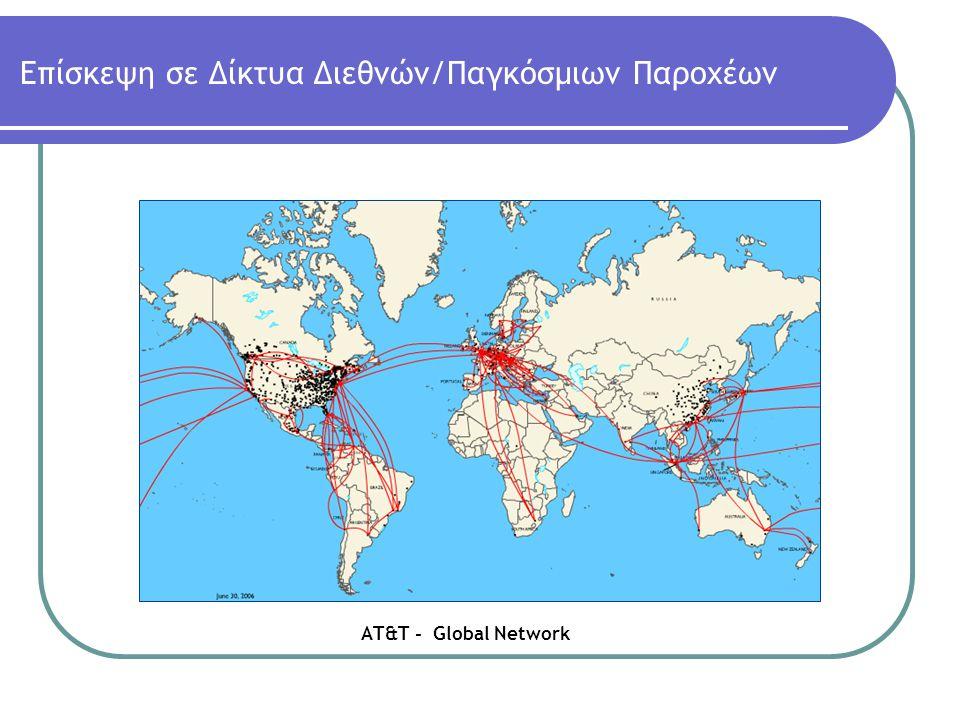 Επίσκεψη σε Δίκτυα Διεθνών/Παγκόσμιων Παροχέων ΑΤ&Τ - Global Network