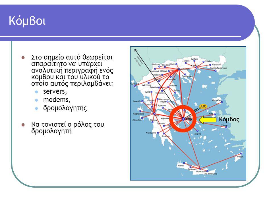 Eπίσκεψη σε Δίκτυα Ελληνικών Παροχέων Οtenet (Εθνικό Δίκτυο Κορμού) http://www.otenet.gr
