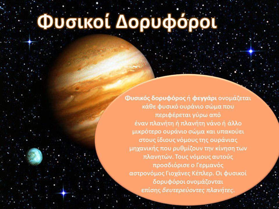 Φυσικός δορυφόρος ή φεγγάρι ονομάζεται κάθε φυσικό ουράνιο σώμα που περιφέρεται γύρω από έναν πλανήτη ή πλανήτη νάνο ή άλλο μικρότερο ουράνιο σώμα και υπακούει στους ίδιους νόμους της ουράνιας μηχανικής που ρυθμίζουν την κίνηση των πλανητών.