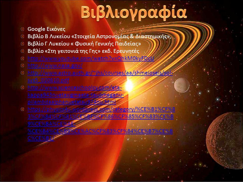 Google Εικόνες Βιβλίο Β Λυκείου «Στοιχεία Αστρονομίας & Διαστημικής», Βιβλίο Γ Λυκείου « Φυσική Γενικής Παιδείας» Βιβλίο «Στη γειτονιά της Γης» εκδ.