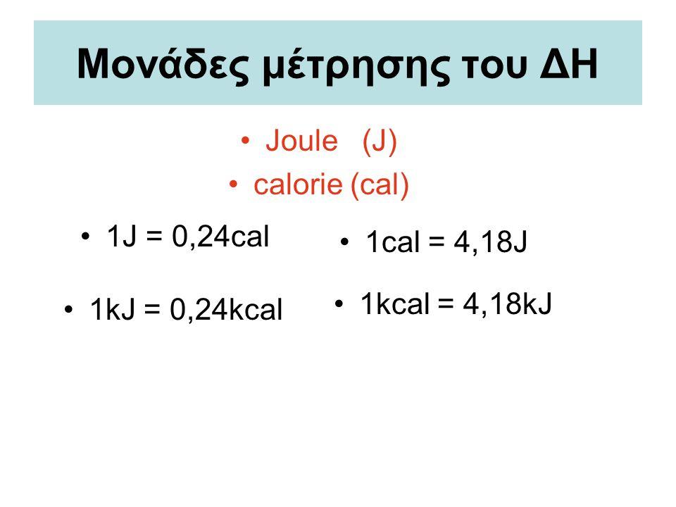 Θερμοχημικές εξισώσεις π.χ.