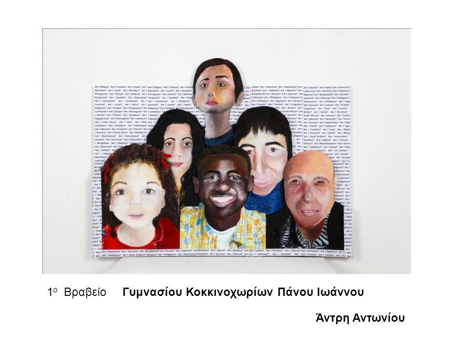 1 ο Βραβείο Γυμνασίου Κοκκινοχωρίων Πάνου Ιωάννου Άντρη Αντωνίου