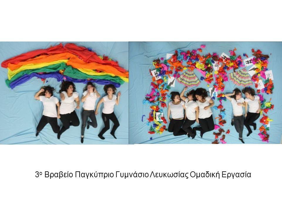 3 ο Βραβείο Παγκύπριο Γυμνάσιο Λευκωσίας Ομαδική Εργασία