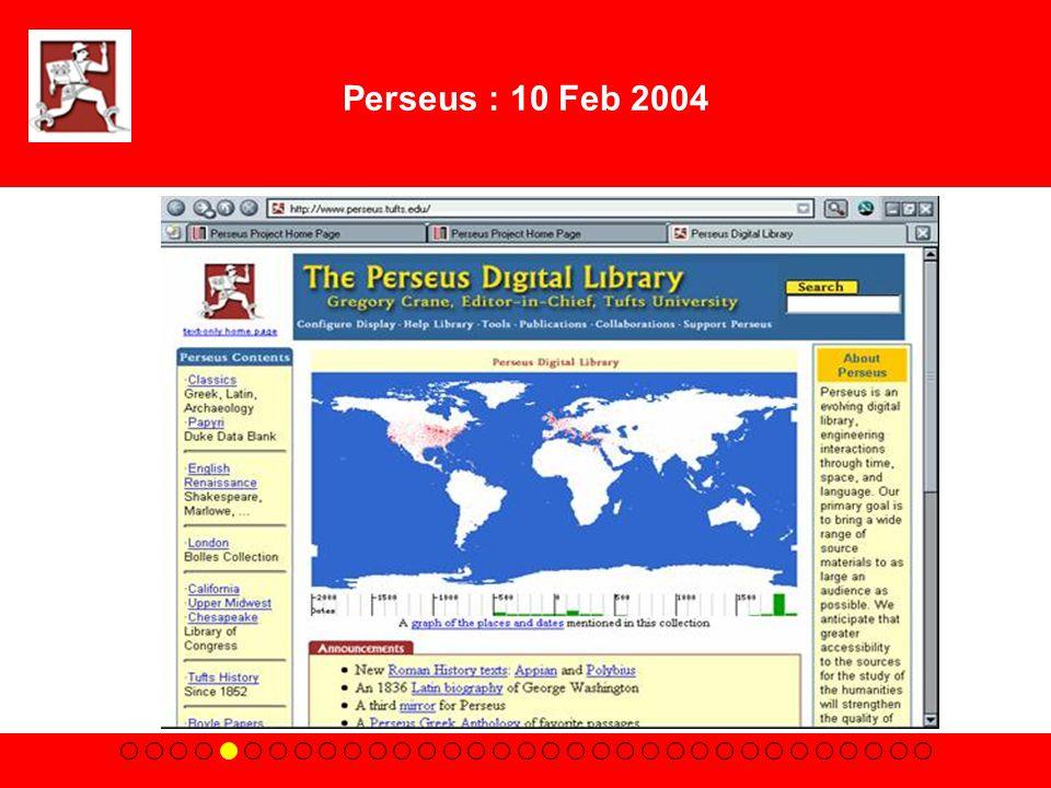 Perseus : 10 Feb 2004