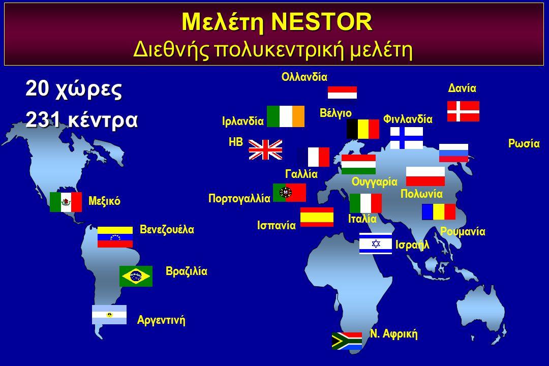 Μεξικό Δανία Βενεζουέλα ΗΒ Πορτογαλλία Βέλγιο Ολλανδία Γαλλία Πολωνία Ισπανία Ν. Αφρική Ουγγαρία Ισραήλ Φινλανδία Ρουμανία Ιταλία Βραζιλία Αργεντινή Μ
