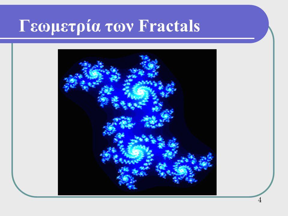 Γεωμετρία των Fractals 4
