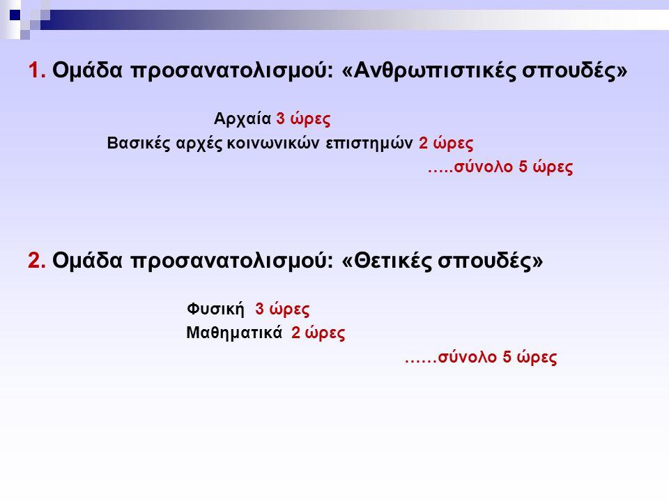 Μάθημα Βαθμός Προαγωγής (Β.Π.) Θρησκευτικά 12 Ελ.