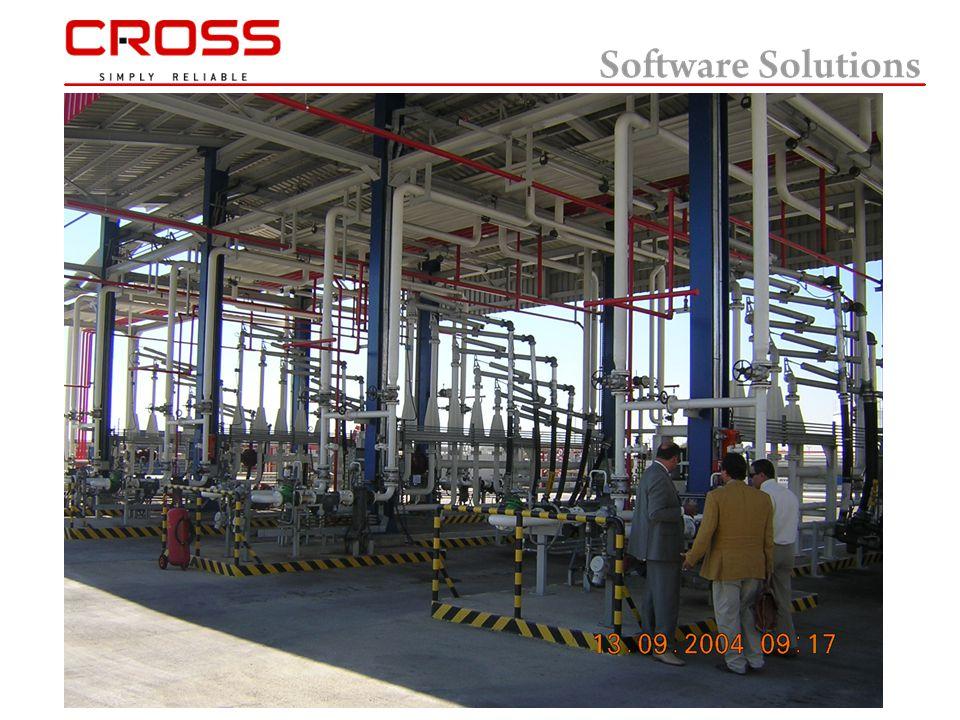  Η CROSS έχει συνεργαστεί με την IASSOFT για την ένταξη 2 νέων επιτηρητών φορτώσεων Contrec 1010 Α στις Εγκαταστάσεις AVIN στους Αγίους Θεοδώρους όπου έχει τρέχει από το 1998 αρχικά το TruckManager και στην συνέχεια το Truckman.NET (TAS) της IASSOFT Ltd και περιλαμβάνει :  Terminal Automation System Additives subsystem Interface to SAP Terminal gate and truck weighing Deliveries and customs clearance  Tank Gauging System  SCADA System