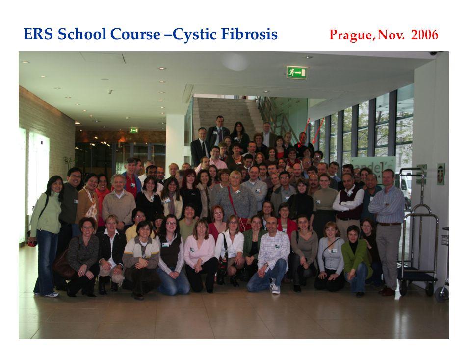 ERS School Course –Cystic Fibrosis Prague, Nov. 2006