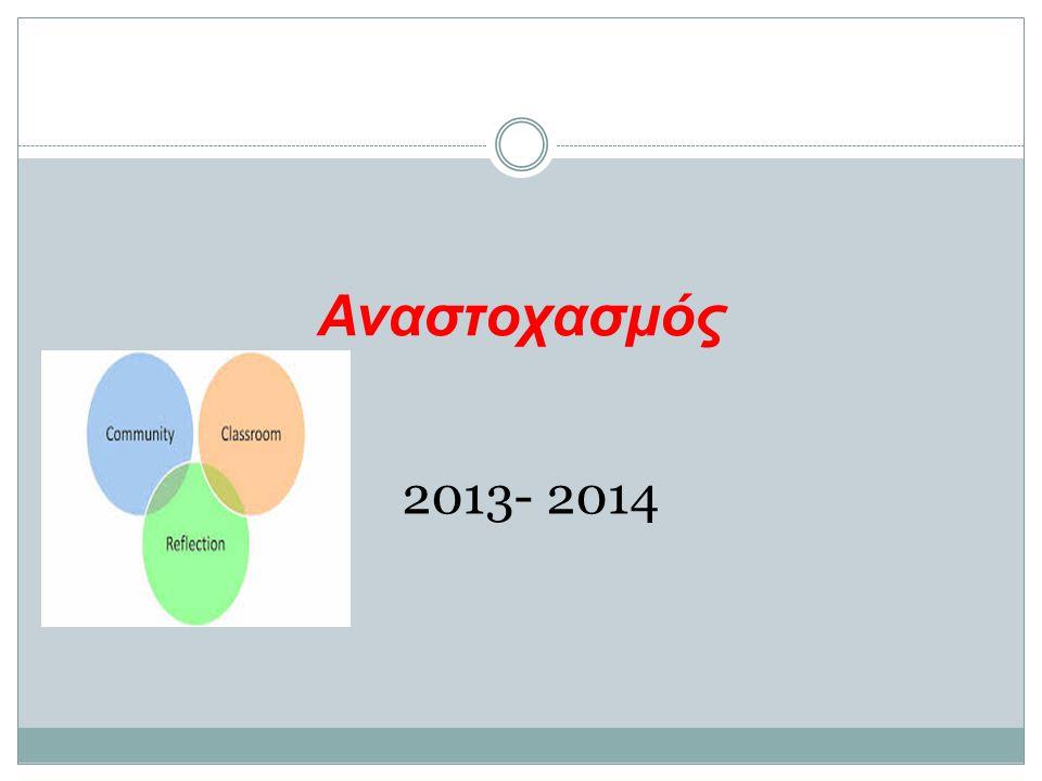 Αναστοχασμός 2013- 2014