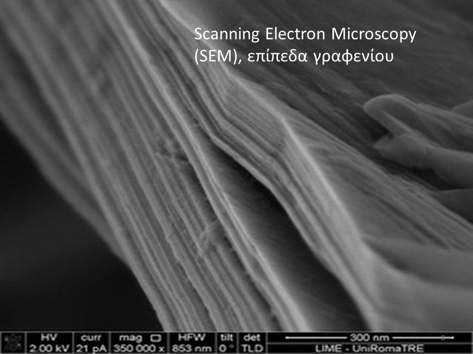 Scanning Electron Microscopy (SEM), επίπεδα γραφενίου 8