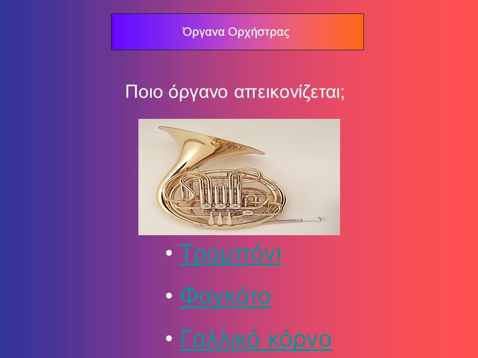 Όργανα Ορχήστρας Σ Ω Σ Τ Α !!! Επόμενη Ερώτηση
