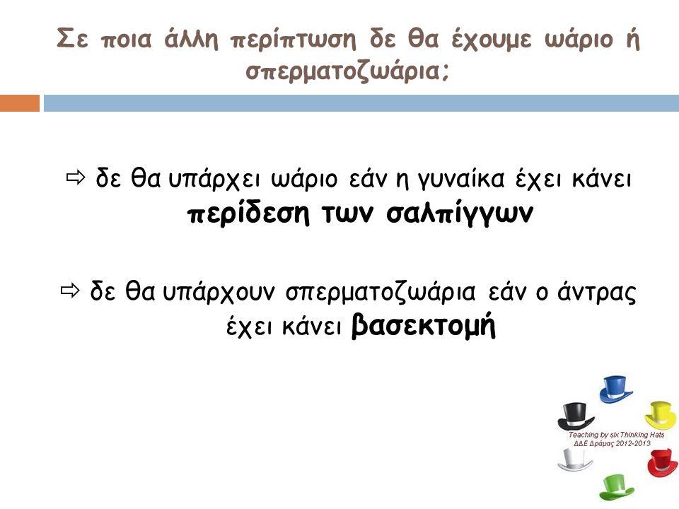 ΧΕΙΡΟΥΡΓΙΚΕΣ ΜΕΘΟΔΟΙ ΑΝΤΙΣΥΛΛΗΨΗΣ  περίδεση σαλπίγγων (στις γυναίκες)  βασεκτομή (στους άντρες)