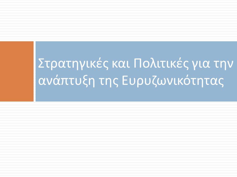 Στρατηγικές και Πολιτικές για την ανάπτυξη της Ευρυζωνικότητας