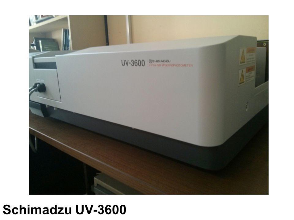 Schimadzu UV-3600