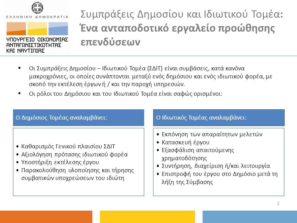 Αποτελέσματα Δημοπρατούνται άμεσα έργα συνολικού προϋπολογισμού 2 δις ευρώ Ήδη βρίσκονται σε διαγωνιστική διαδικασία υποβολής δεσμευτικών προσφορών, δύο έργα σχολικών υποδομών στην Αττική 13