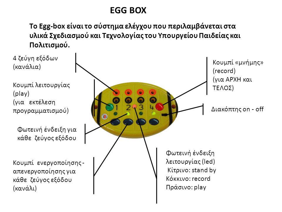 Το Engino μπορεί να συνδυαστεί άριστα με το γνωστό μας Egg box.
