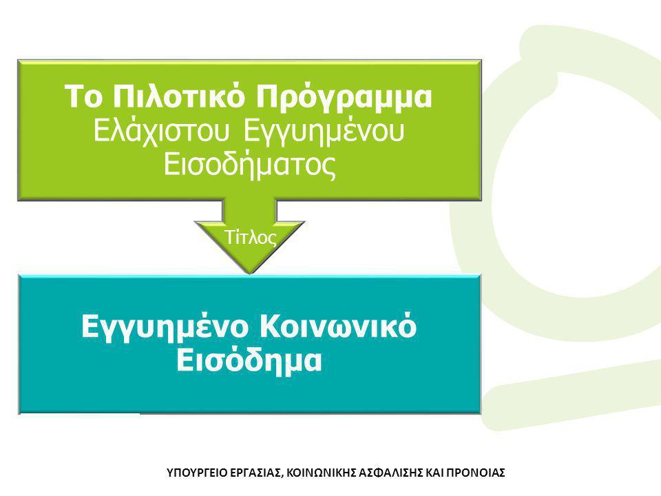 Φορείς που υποστηρίζουν το Πρόγραμμα Υπουργείο Εργασίας Κοινωνικής Ασφάλισης & Πρόνοιας ΗΔΙΚΑ Α.Ε.