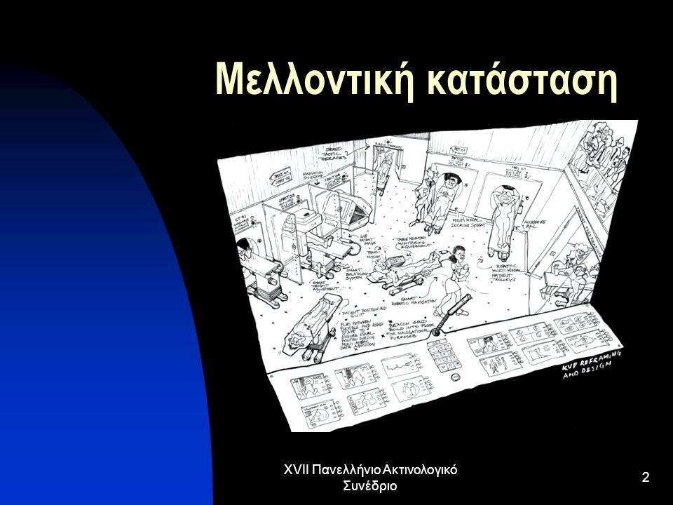 XVII Πανελλήνιο Ακτινολογικό Συνέδριο 23 ………………αξιολόγηση Διακρίβωση εξοπλισμού Αναβάθμιση εξοπλισμού Αποτελεσματικότητα εξοπλισμού Κοινωνικά οφέλη εξοπλισμού Οικονομικά οφέλη εξοπλισμού (λειτουργικό κόστος, κόστος συντήρησης, αντικατάστασης και εκπαίδευσης)