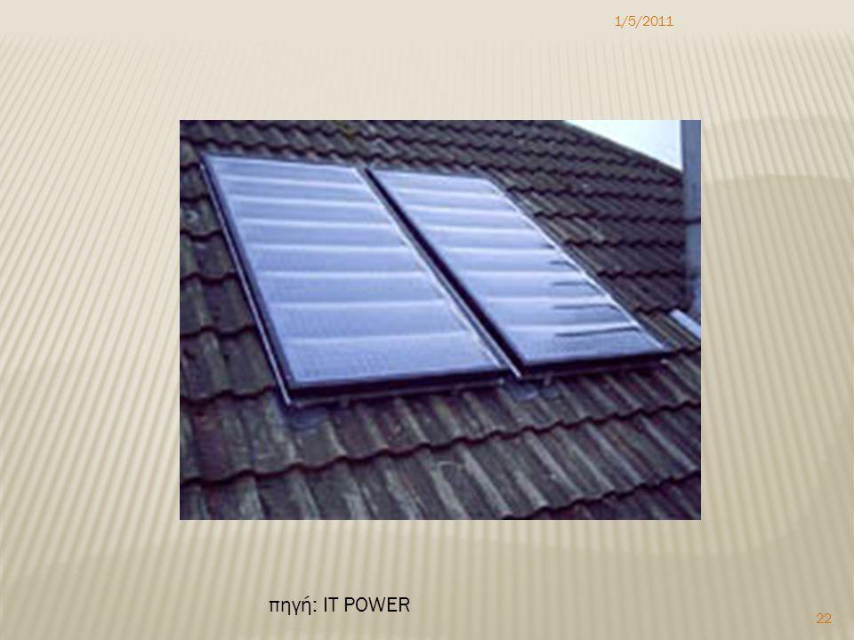 1/5/2011 22 πηγή: IT POWER