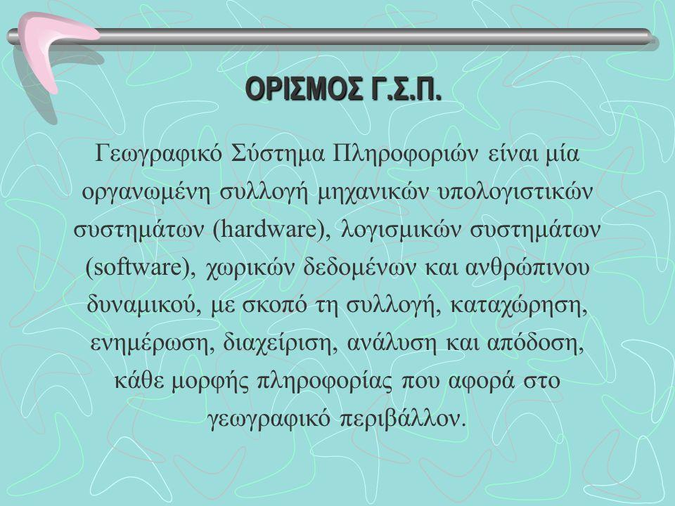 ΟΡΙΣΜΟΣ Γ.Σ.Π.