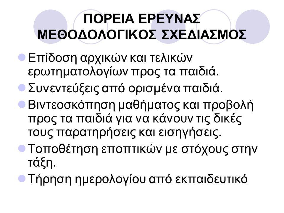 ΕΠΙΣΤΟΛΗ ΠΡΟΣ ΓΟΝΕΙΣ Γ΄ ΔΗΜΟΤΙΚΟ ΣΧΟΛΕΙΟ ΙΔΑΛΙΟΥ 14 ΦΕΒΡΟΥΑΡΙΟΥ 2008 Αγαπητοί μου, Επικοινωνώ μαζί σας για να σας ενημερώσω ότι στα πλαίσια ενός σεμιναρίου που παρακολουθώ στο Παιδαγωγικό Ινστιτούτο, με θέμα: «Ο Εκπαιδευτικός ερευνητής», θα διεξάγω μια, μικρής έκτασης, έρευνα δράσης με τα παιδιά της τάξης μου.