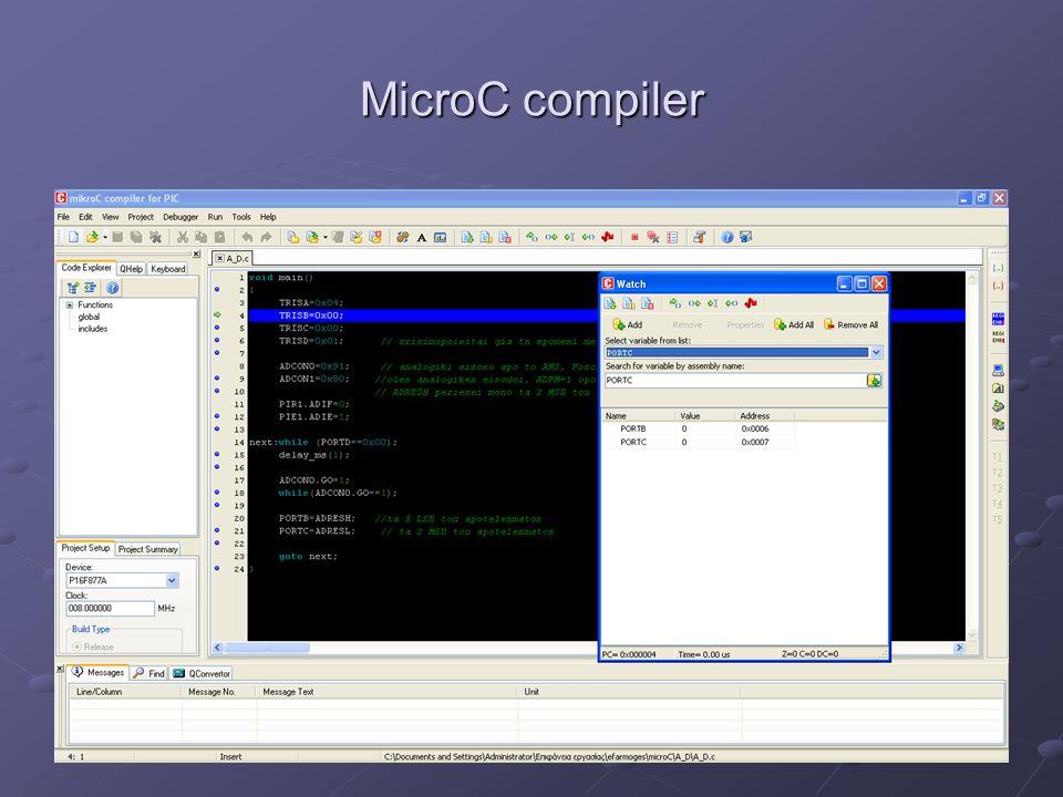 MPLAB compiler