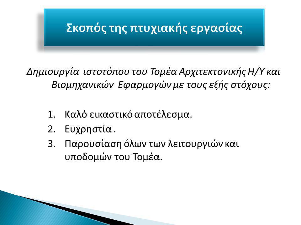 4.Διαχωρισμός δικαιωμάτων για του χρήστες του συστήματος.