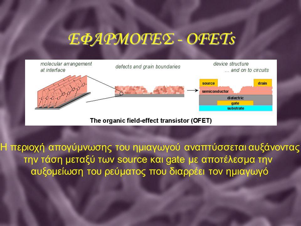 Η περιοχή απογύμνωσης του ημιαγωγού αναπτύσσεται αυξάνοντας την τάση μεταξύ των source και gate με αποτέλεσμα την αυξομείωση του ρεύματος που διαρρέει