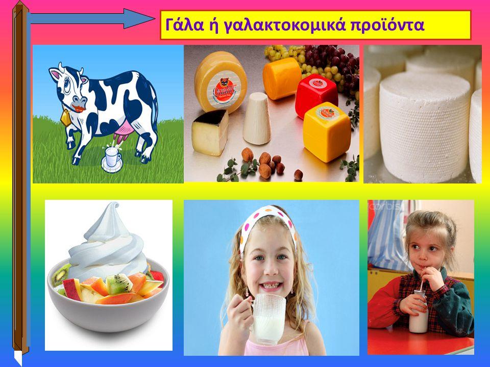 3 Γάλα ή γαλακτοκομικά προϊόντα