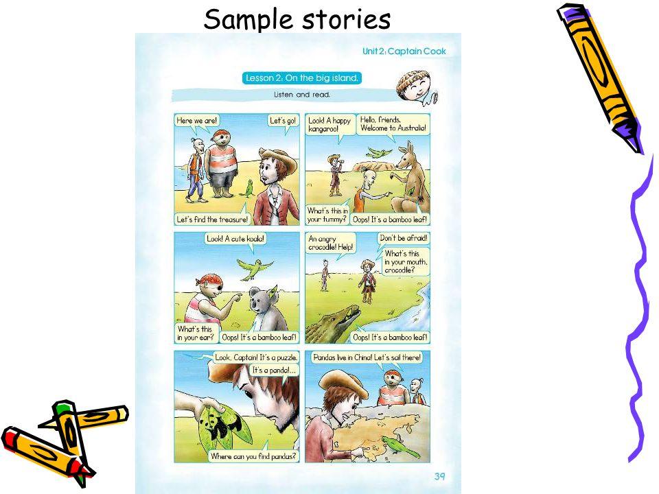 Sample stories