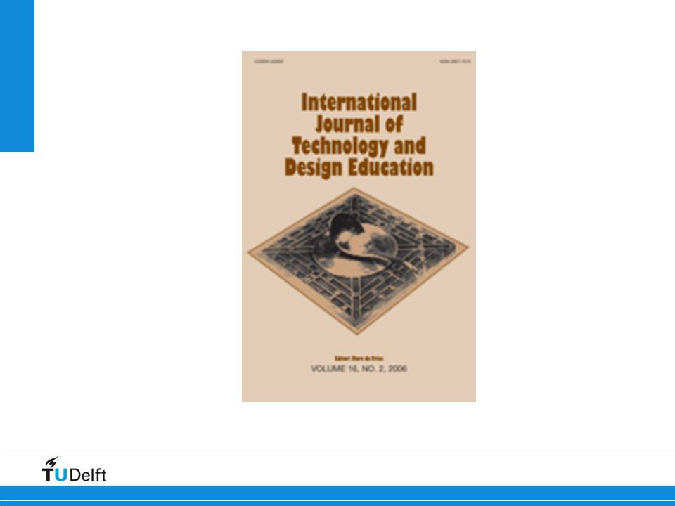 Προσδιορίζοντας το σώμα της γνώσης για την τεχνολογική παιδεία: (1) Η ανάπτυξη της τεχνολογικής εκπαίδευσης στο διεθνές πεδίο Μετάβαση από ένα αντικείμενο προσανατολισμένο στις τεχνικές δεξιότητες σε μια ευρύτερη μαθησιακή περιοχή.