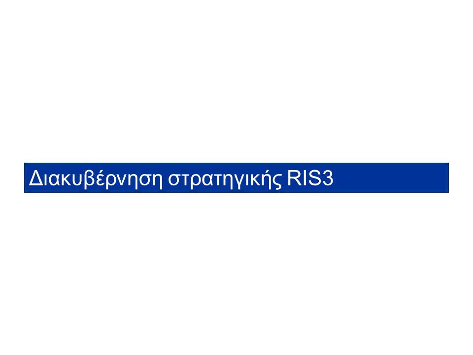 Workshop συμπεράσματα DG REGIO - RIS for Smart Specialisation in Greece Η Περιφέρεια Στερεάς Ελλάδας θα προωθήσει μια ανοικτή πολιτική και τη συμμετοχή των φορέων της Περιφέρειας στη στρατηγική RIS3.
