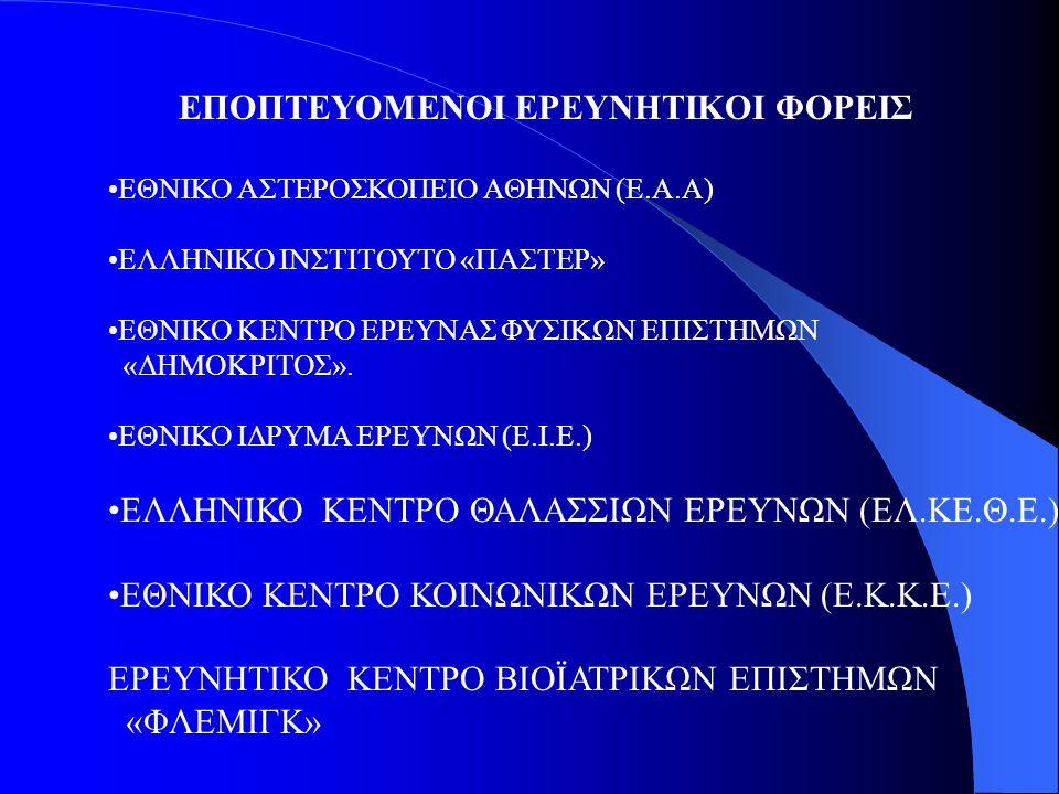ΕΘΝΙΚΟ ΚΕΝΤΡΟ ΕΡΕΥΝΑΣ & ΤΕΧΝΟΛΟΓΙΚΗΣ ΑΝΑΠΤΥΞΗΣ (ΕΚΕΤΑ) ΙΔΡΥΜΑ ΤΕΧΝΟΛΟΓΙΑΣ & ΕΡΕΥΝΑΣ (Ι.Τ.Ε.) ΚΕΝΤΡΟ ΑΝΑΝΕΩΣΙΜΩΝ ΠΗΓΩΝ ΕΝΕΡΓΕΙΑΣ (Κ.Α.Π.Ε.) ΚΕΝΤΡΟ ΕΦΑΡΜΟΓΩΝ ΤΩΝ ΤΕΧΝΟΛΟΓΙΩΝ ΕΠΙΚΟΙΝΩΝΙΑΣ & ΠΛΗΡΟΦΟΡΙΑΣ (Κ.Ε.Τ.Ε.Π.)