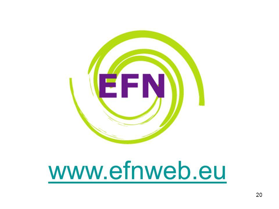 20 www.efnweb.eu