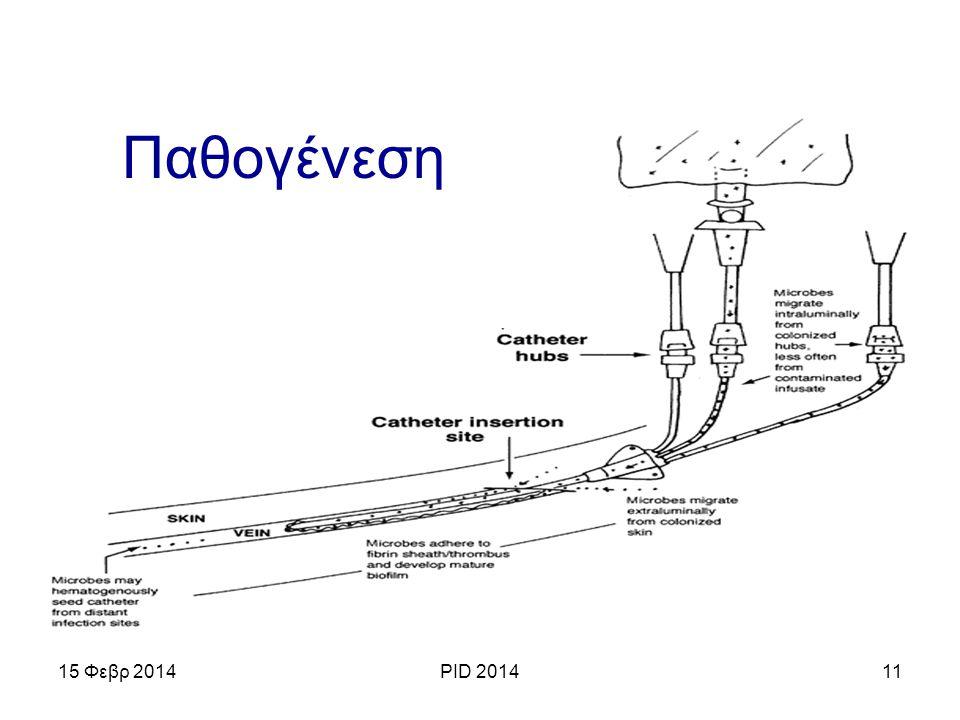 .. 15 Φεβρ 2014PID 201411 Παθογένεση