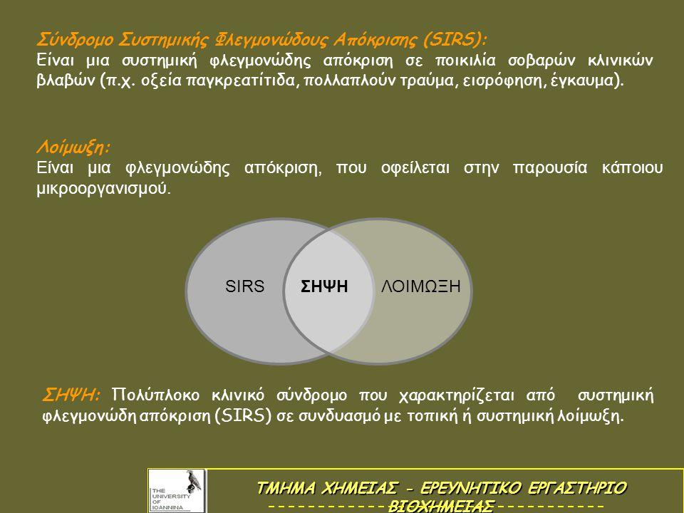 Μοντέλο σήψης: LPS Βακτηριακός Λιποπολυσακχαρίτης.