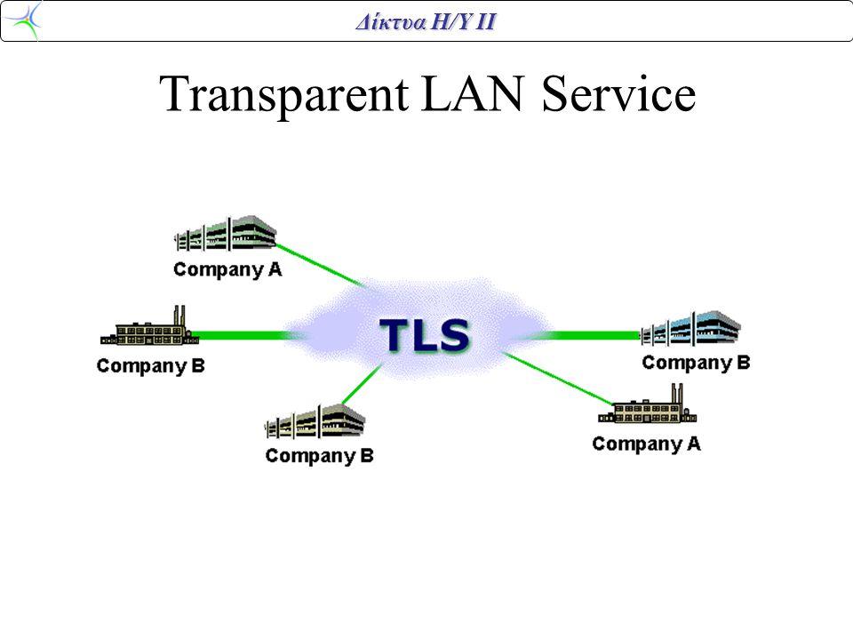 Δίκτυα Η/Υ ΙΙ Transparent LAN Service