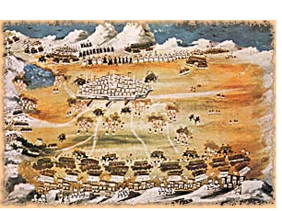Γιατί οι Οθωμανοί δεν μπόρεσαν να στείλουν στρατό στην Πελοπόννησο; Οι Οθωμανοί δεν μπόρεσαν να στείλουν στρατό γιατί στην Στερεά Ελλάδα συνάντησαν την αντίσταση των Ελλήνων.