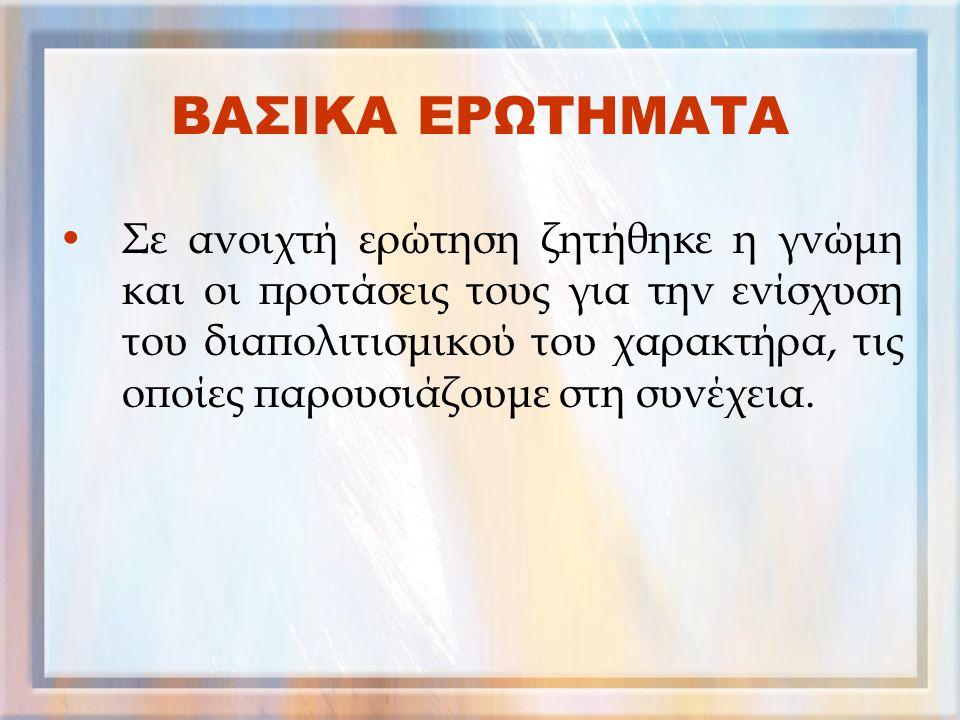γ. Βοηθά στη γρήγορη εκμάθηση της ελληνικής γλώσσας