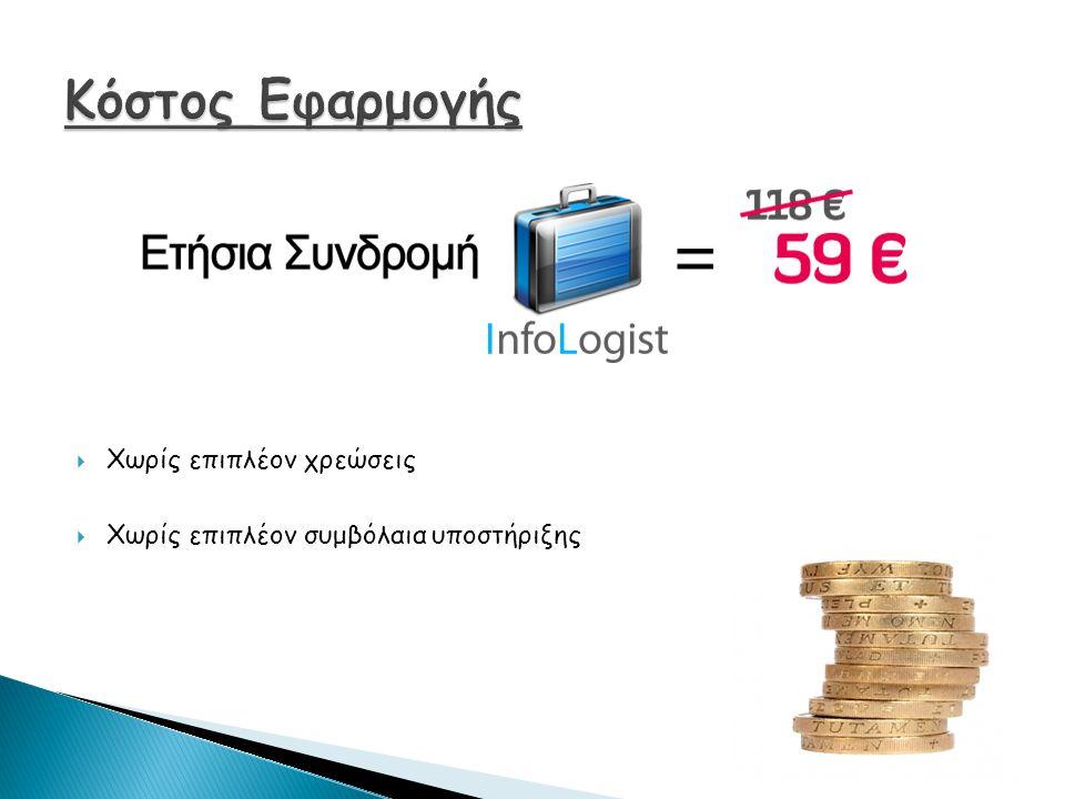  Άμεση και εύκολη πρόσβαση στα οικονομικά στοιχεία των πελατών από το κινητό τηλέφωνο.