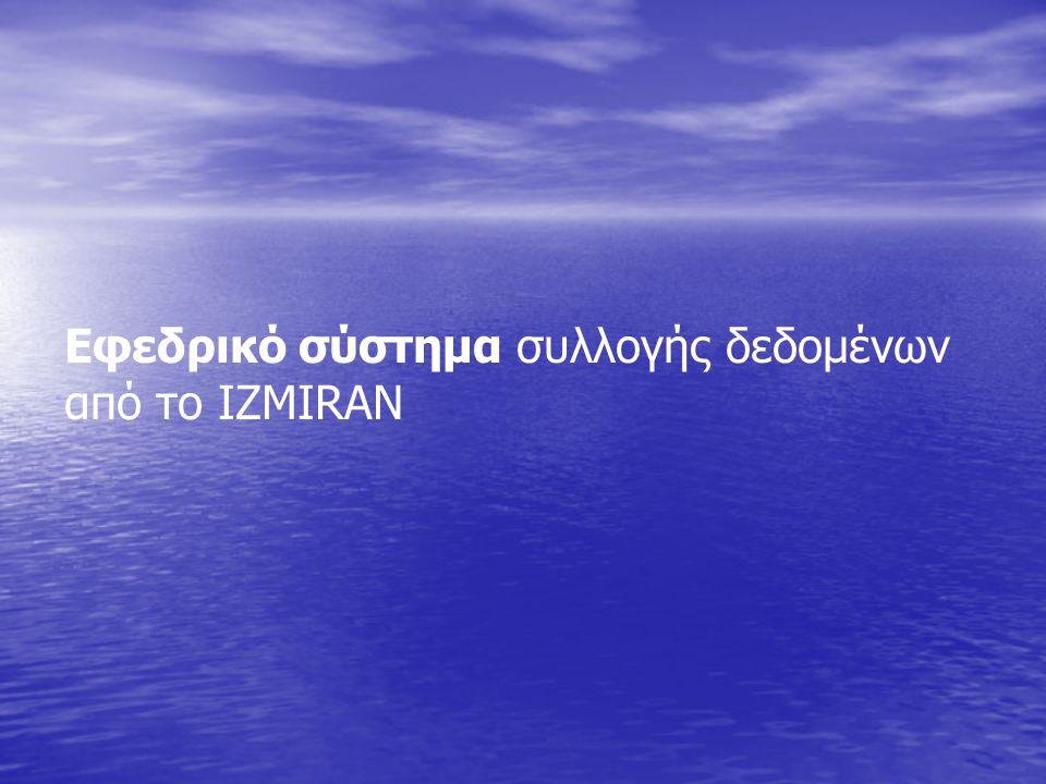 Εφεδρικό σύστημα συλλογής δεδομένων από το IZMIRAN