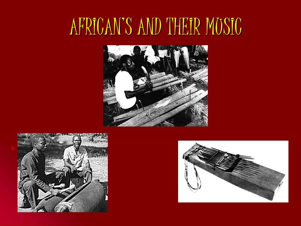 Αφρικάνικα μουσικά όργανα Αφρικάνικα μουσικά όργανα χορδόφωνα Τα περισσότερα είναι φτιαγμένα από φυσικά εργαλεία όπως δέρματα ζώων και ξύλα Τέτοια είναι: Bowed (goje (Ghana)) Plucked (kora (Senegal) Strummed (ngoni (Mali)) Kora Goje Ngoni