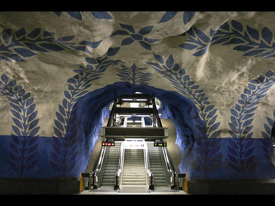 Η Στοκχόλμη και το Μετρό της