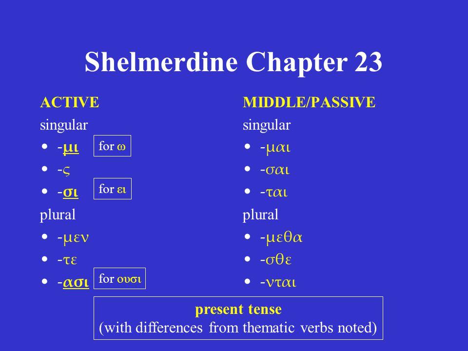 Shelmerdine Chapter 23 2 μήτηρ δυοῖν προκειμένων, εὐσεβείας καὶ τῆς ἑπτὰ υἱῶν σωτηρίας προσκαίρου κατὰ τὴν τοῦ τυράννου ὑπόσχεσιν, 3 τὴν εὐσέβειαν μᾶλλον ἠγάπησεν τὴν σῴζουσαν εἰς αἰωνίαν ζωὴν κατὰ θεόν.